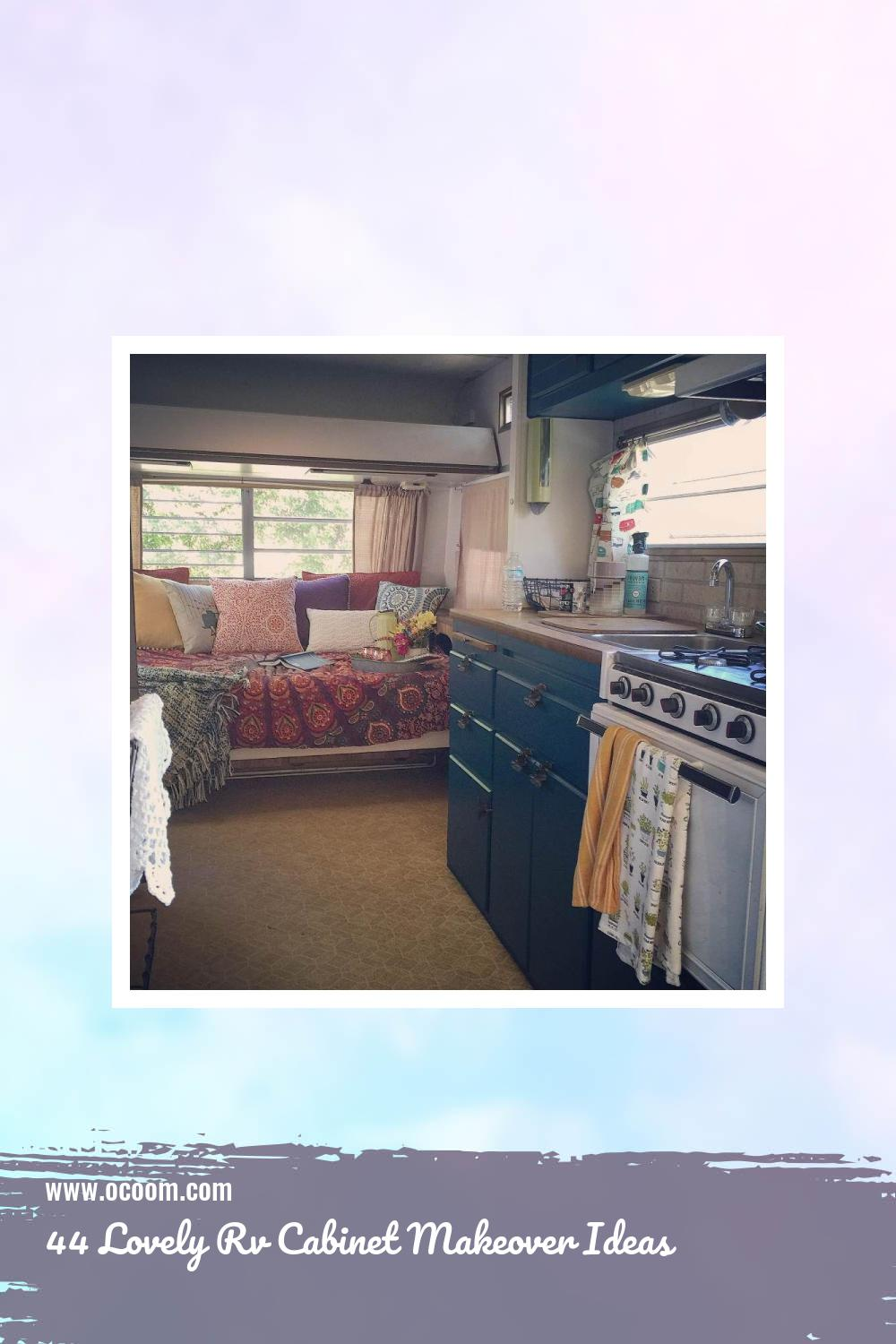 44 Lovely Rv Cabinet Makeover Ideas 19