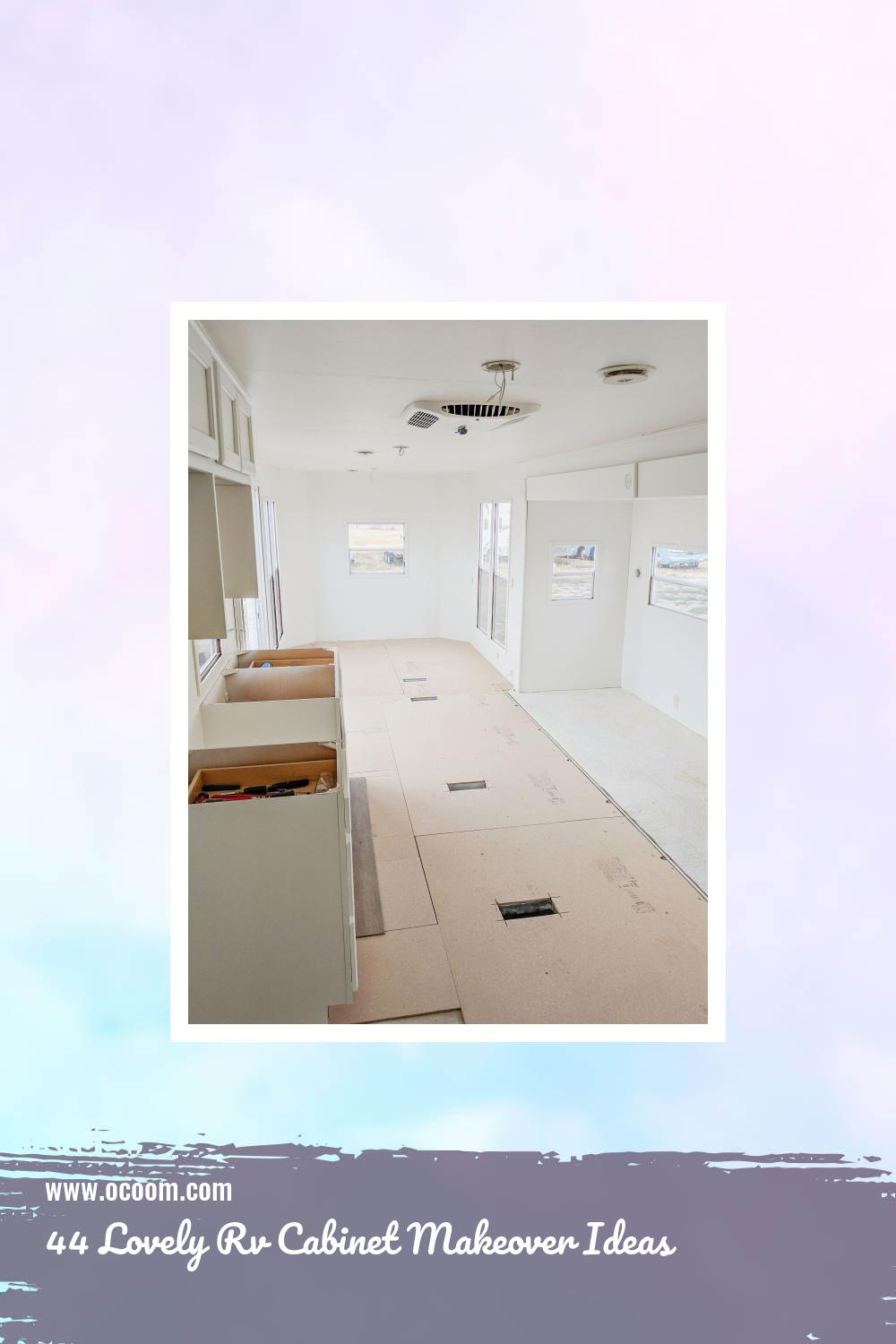 44 Lovely Rv Cabinet Makeover Ideas 24