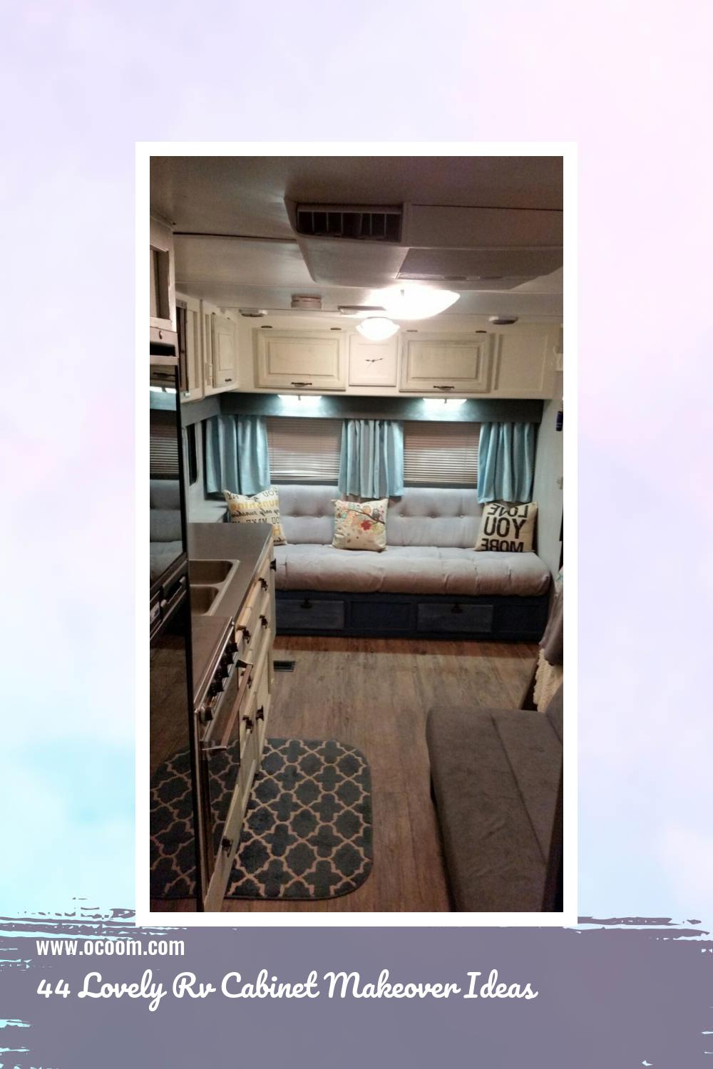 44 Lovely Rv Cabinet Makeover Ideas 3