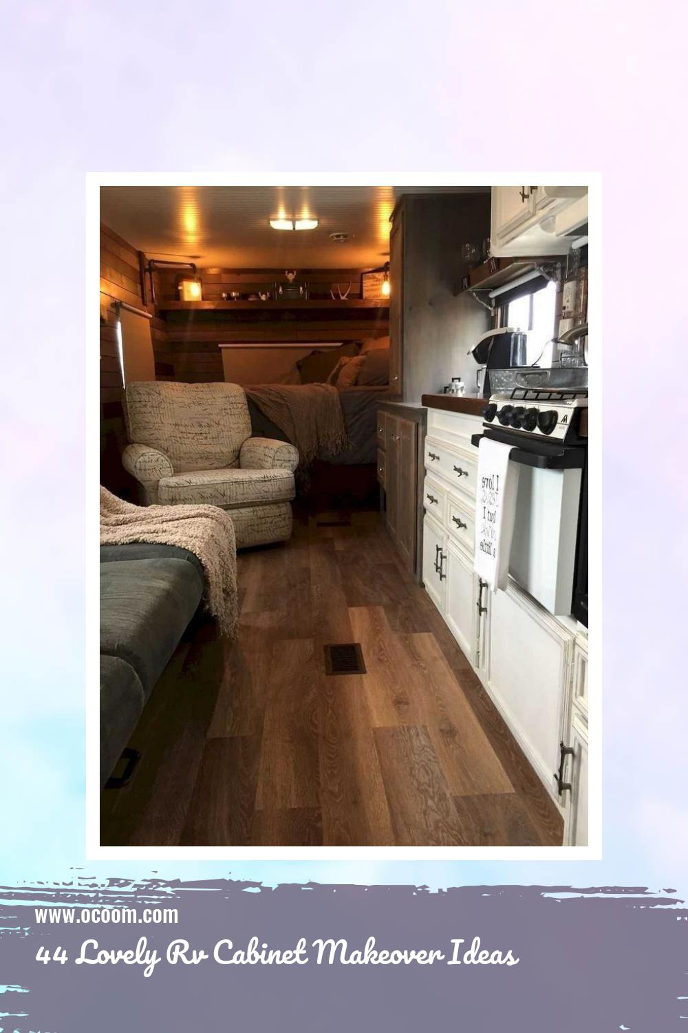44 Lovely Rv Cabinet Makeover Ideas 35