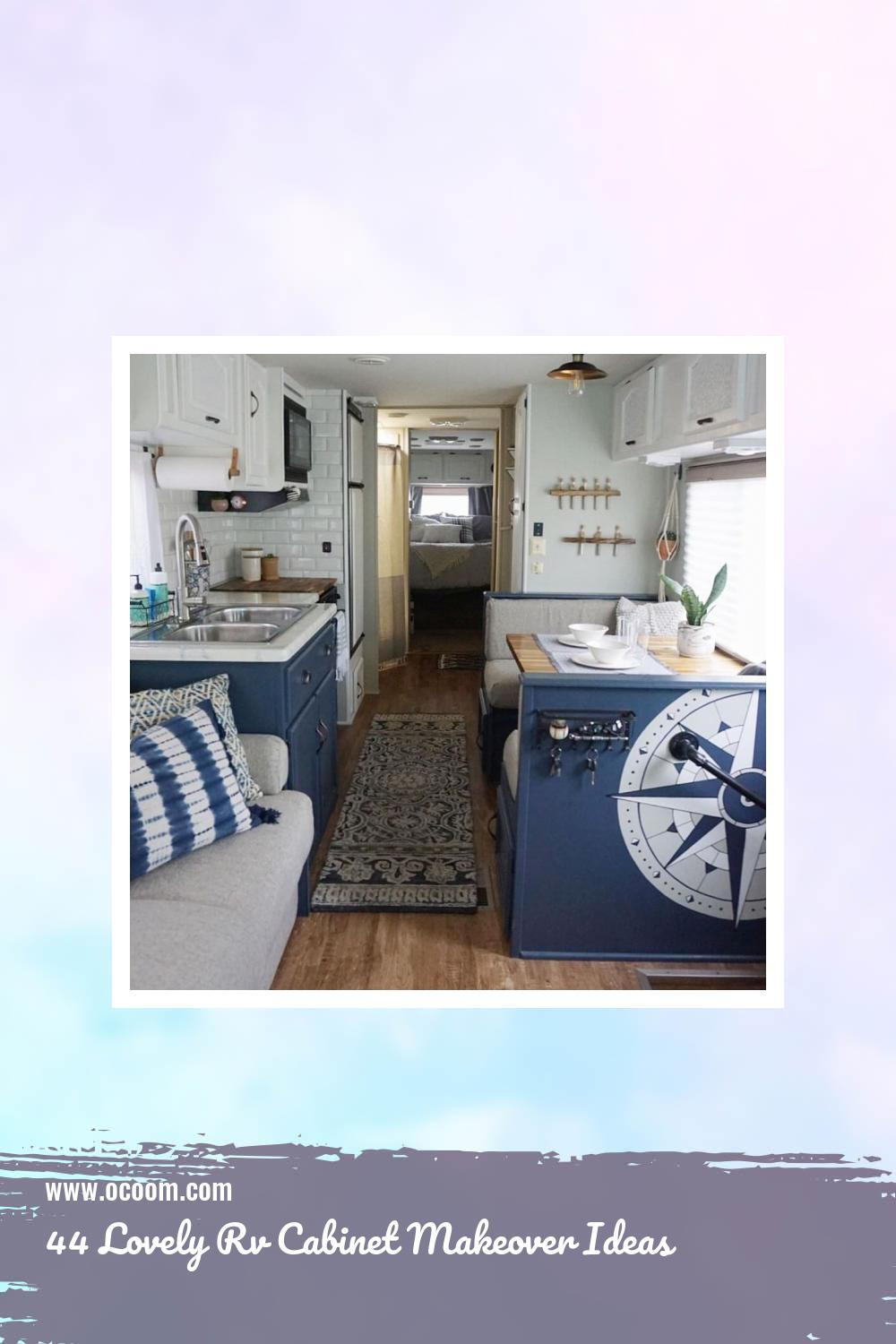 44 Lovely Rv Cabinet Makeover Ideas 39