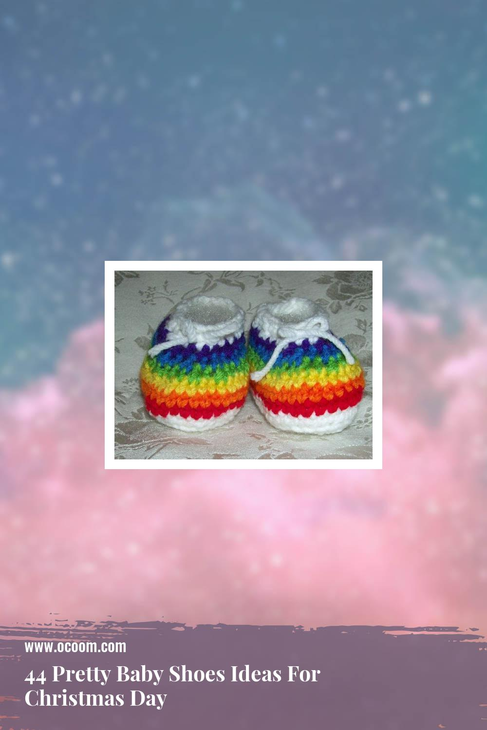 44 Pretty Baby Shoes Ideas For Christmas Day 1