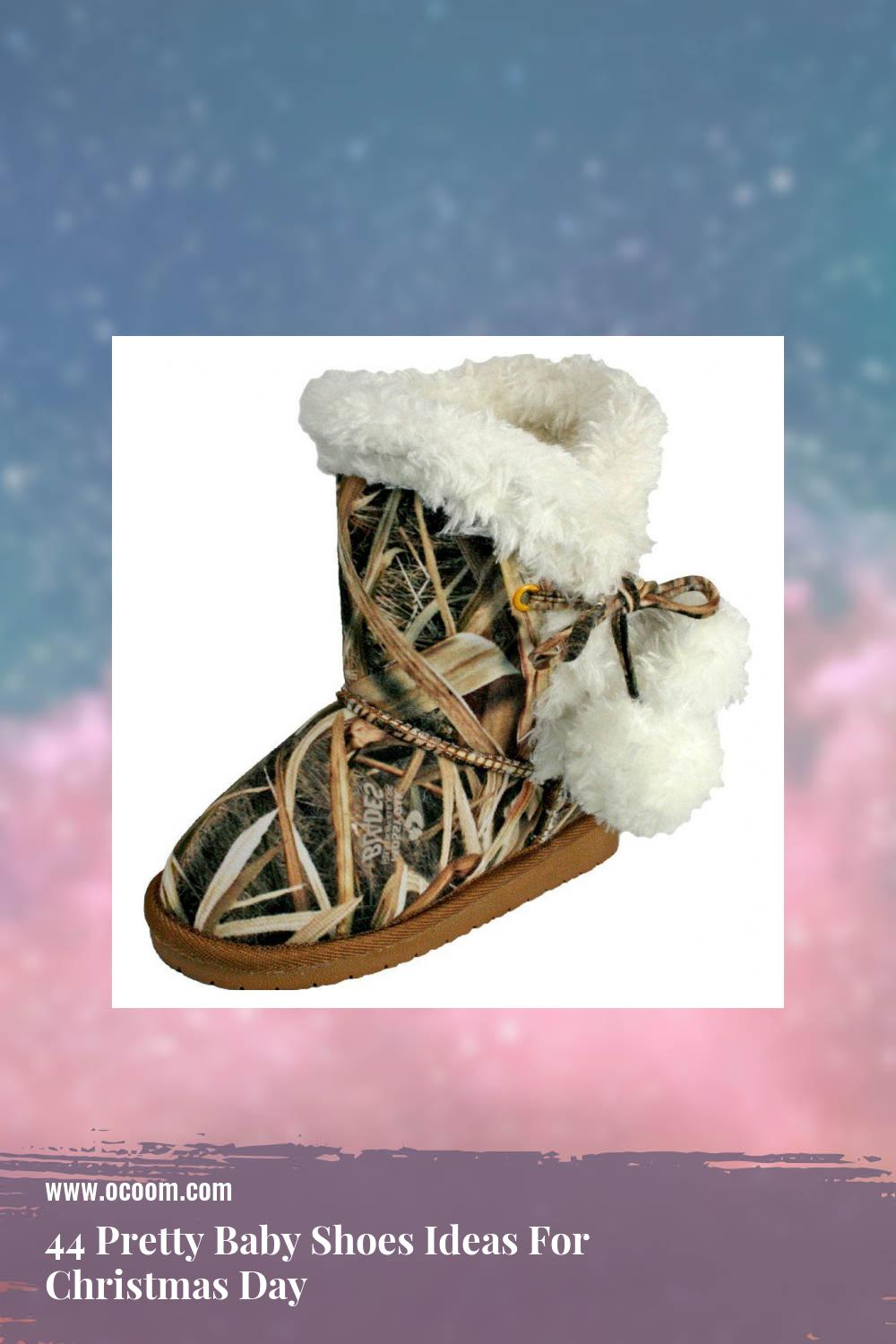 44 Pretty Baby Shoes Ideas For Christmas Day 13