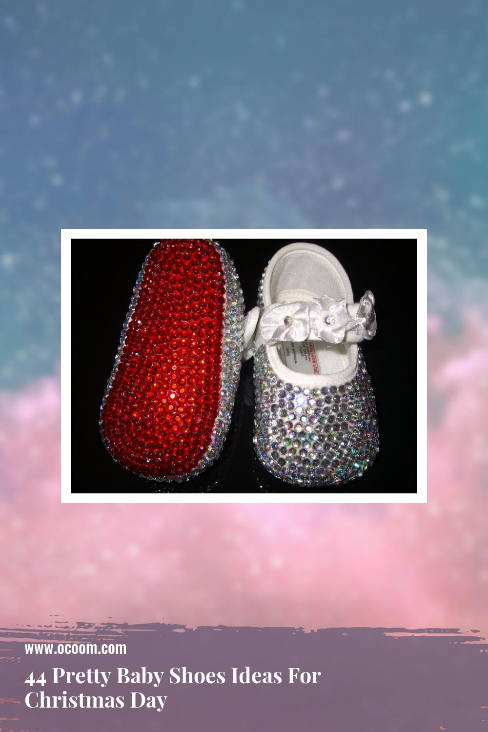 44 Pretty Baby Shoes Ideas For Christmas Day 2