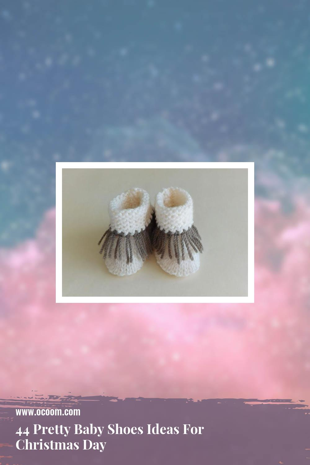 44 Pretty Baby Shoes Ideas For Christmas Day 24