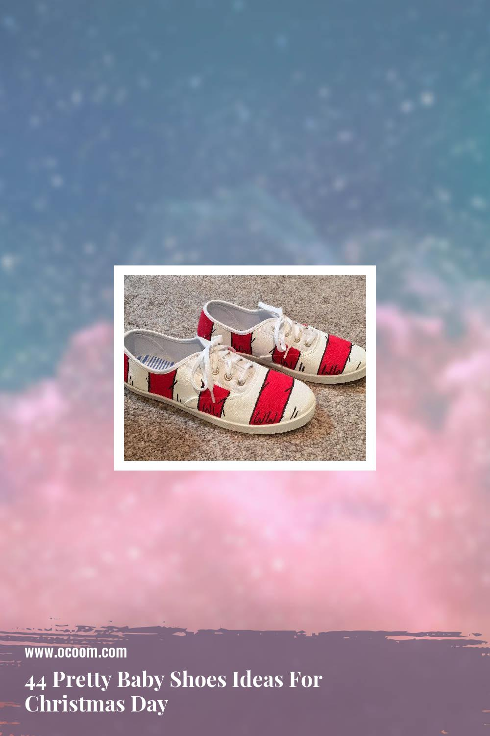 44 Pretty Baby Shoes Ideas For Christmas Day 26
