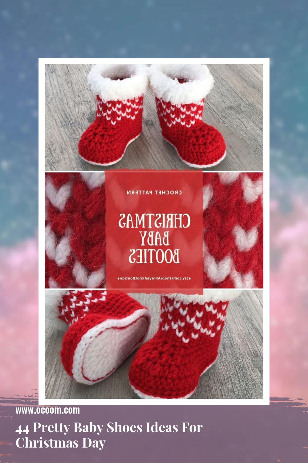 44 Pretty Baby Shoes Ideas For Christmas Day 28