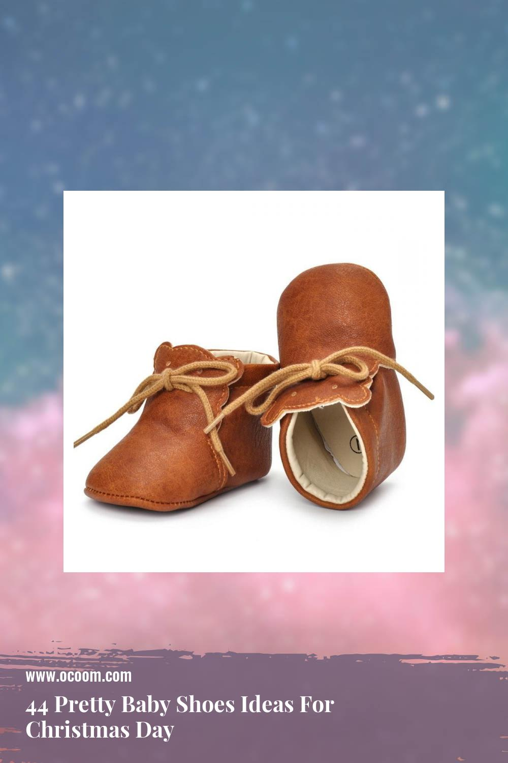 44 Pretty Baby Shoes Ideas For Christmas Day 34