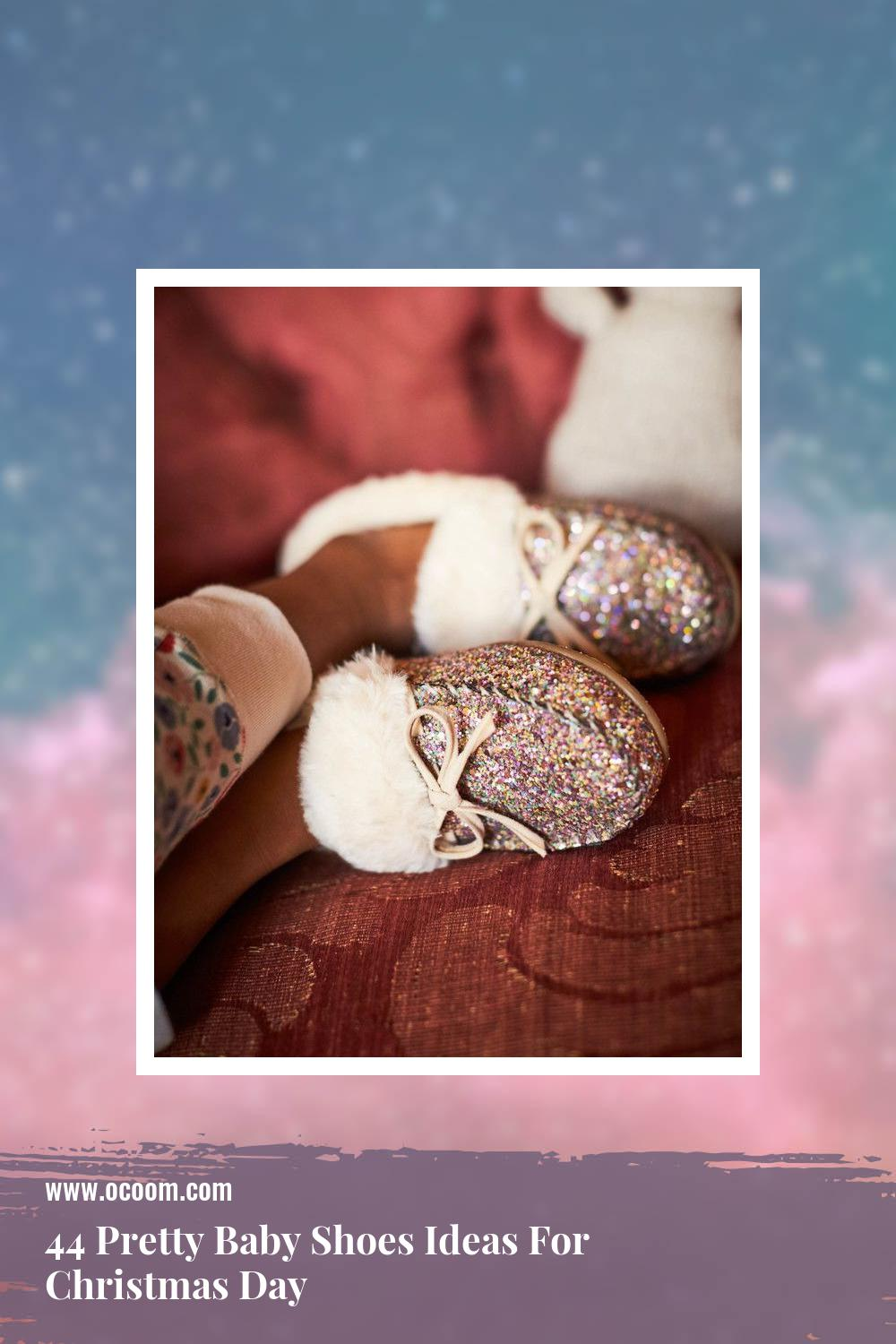44 Pretty Baby Shoes Ideas For Christmas Day 38