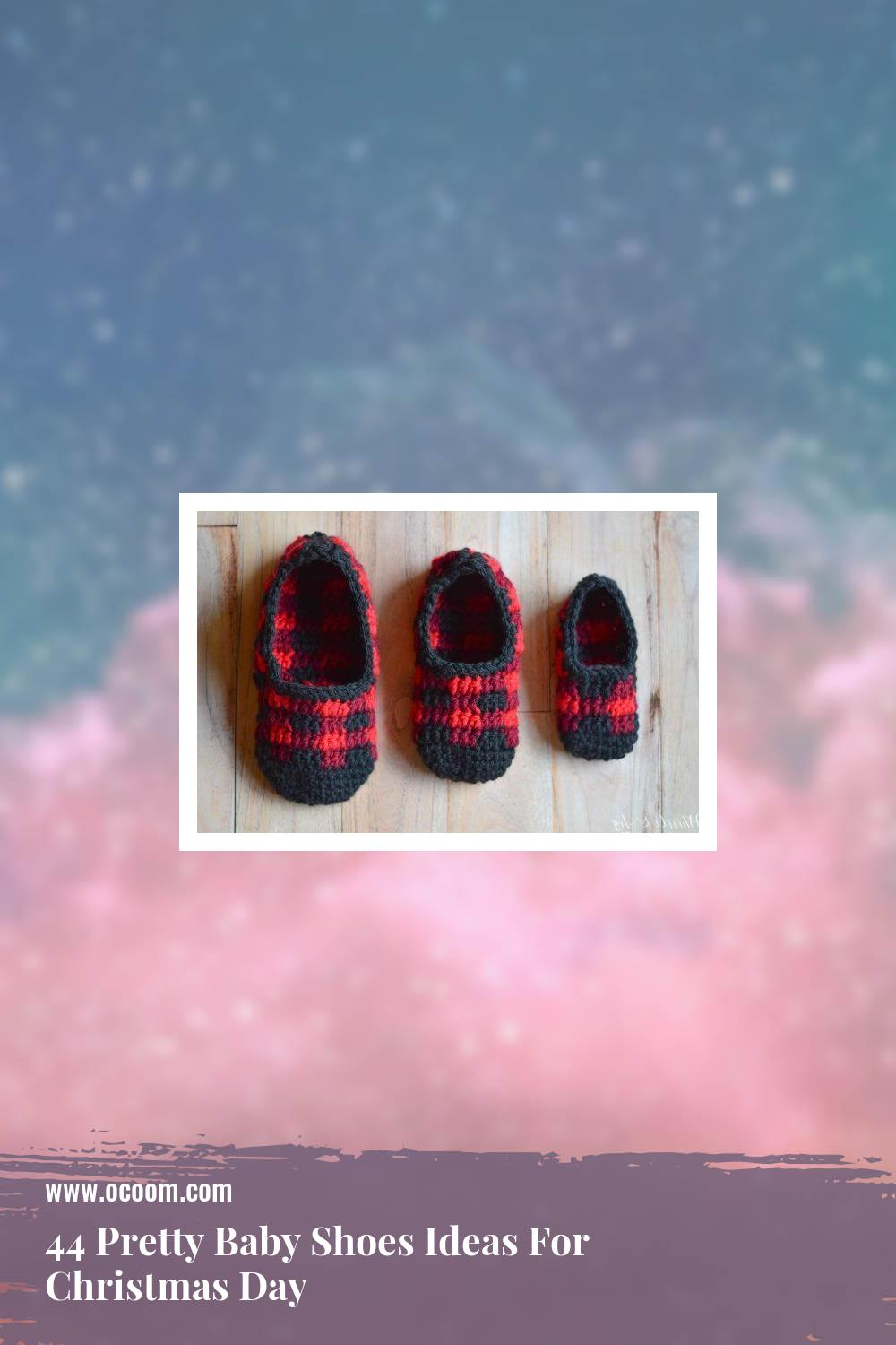 44 Pretty Baby Shoes Ideas For Christmas Day 39