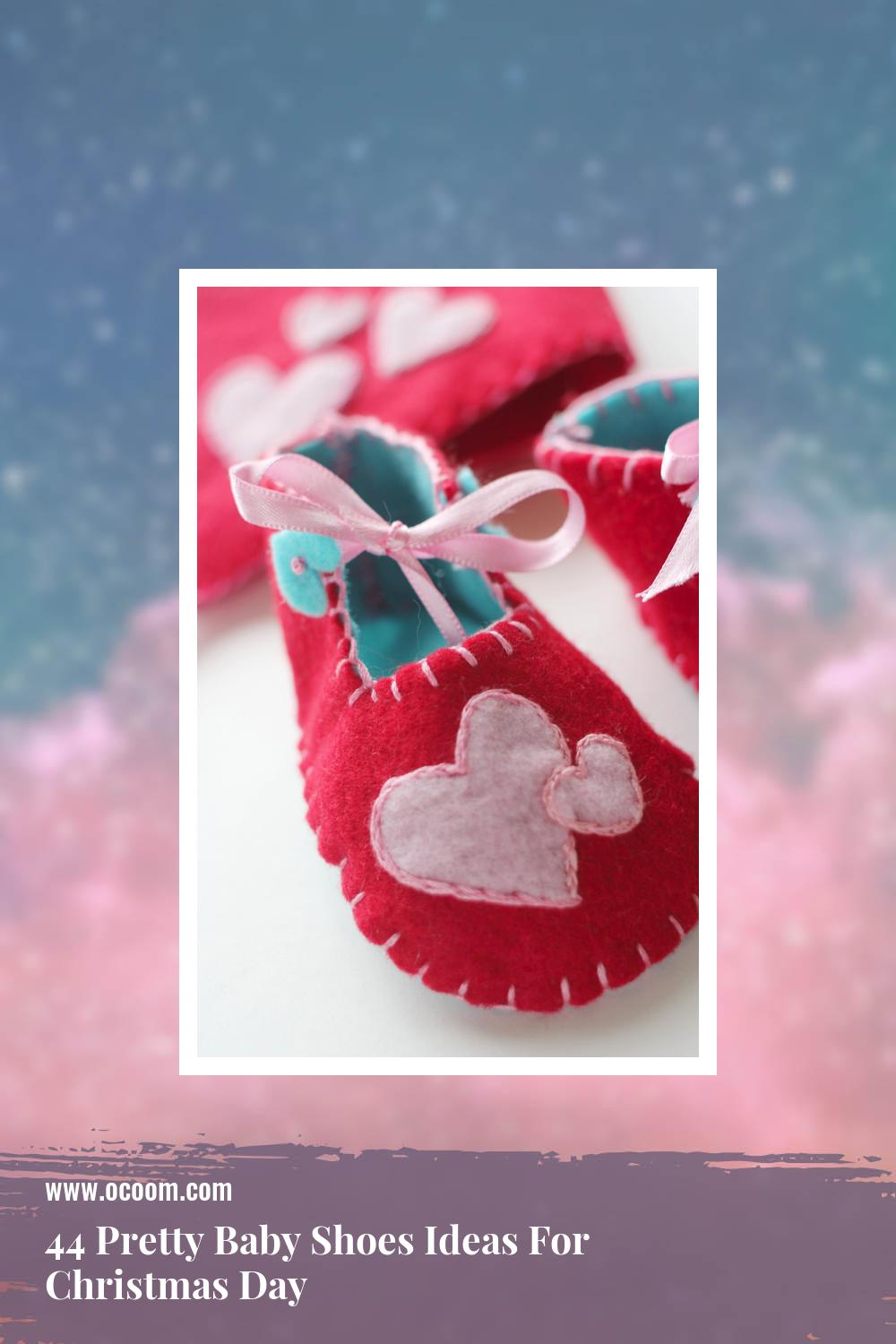 44 Pretty Baby Shoes Ideas For Christmas Day 4