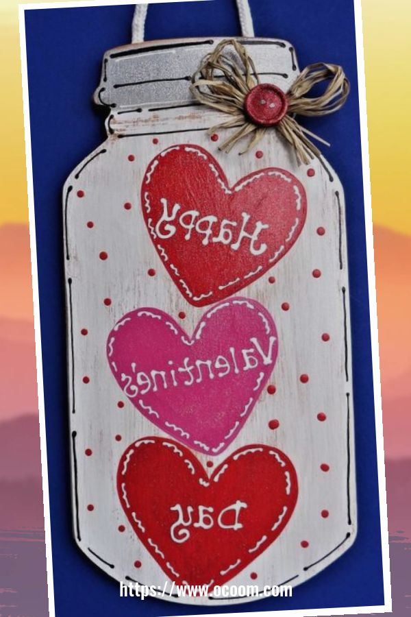 44 Simple DIY Valentines Day Decor Ideas 21