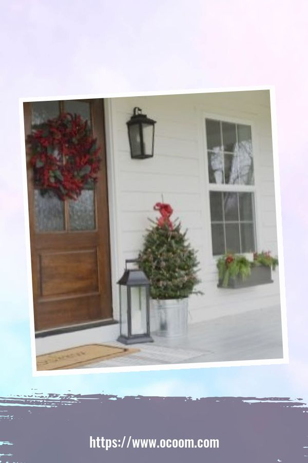 45 Perfect Christmas Porch Decoration Ideas 15