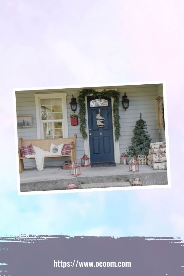 45 Perfect Christmas Porch Decoration Ideas 20