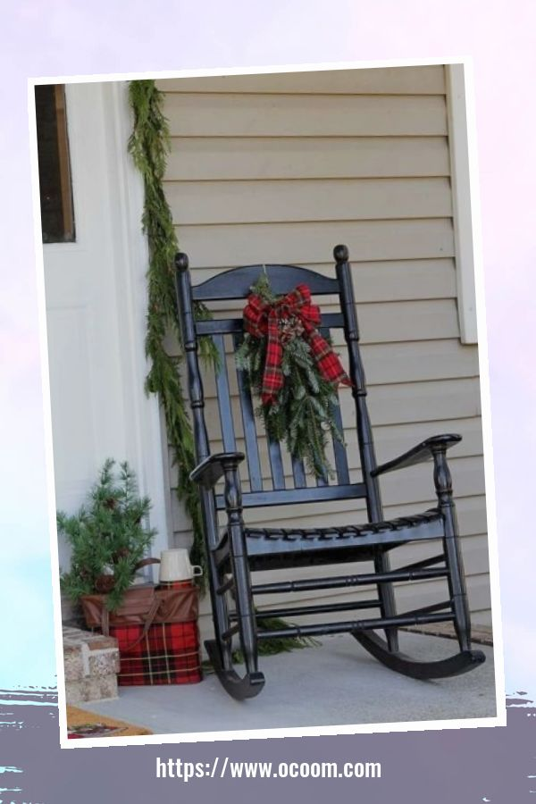 45 Perfect Christmas Porch Decoration Ideas 25
