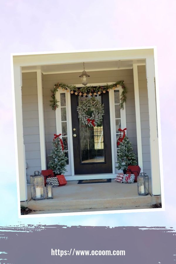 45 Perfect Christmas Porch Decoration Ideas 29