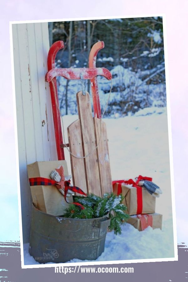 45 Perfect Christmas Porch Decoration Ideas 33
