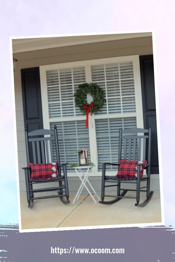 45 Perfect Christmas Porch Decoration Ideas 39