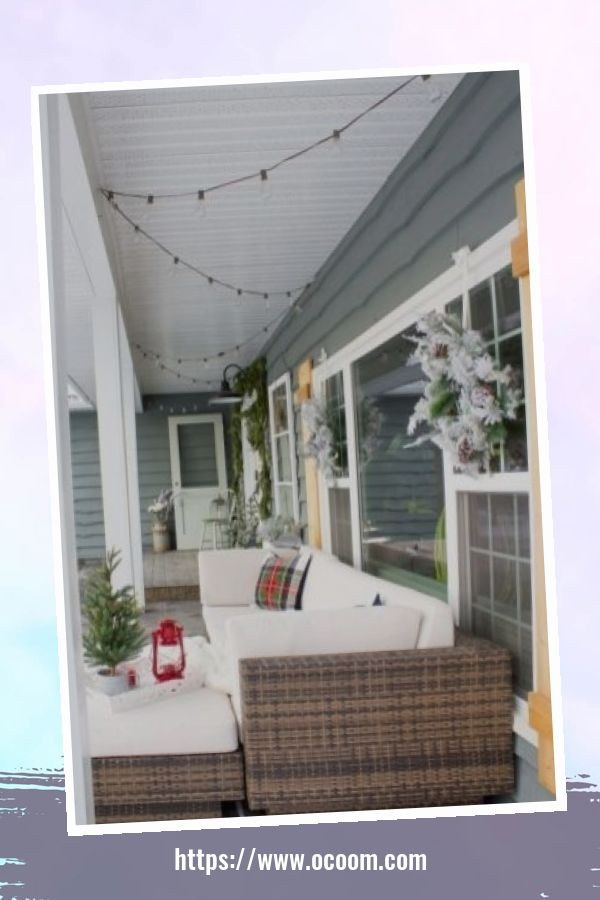 45 Perfect Christmas Porch Decoration Ideas 43