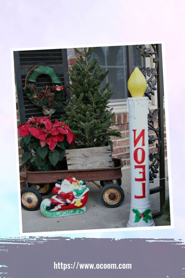 45 Perfect Christmas Porch Decoration Ideas 6