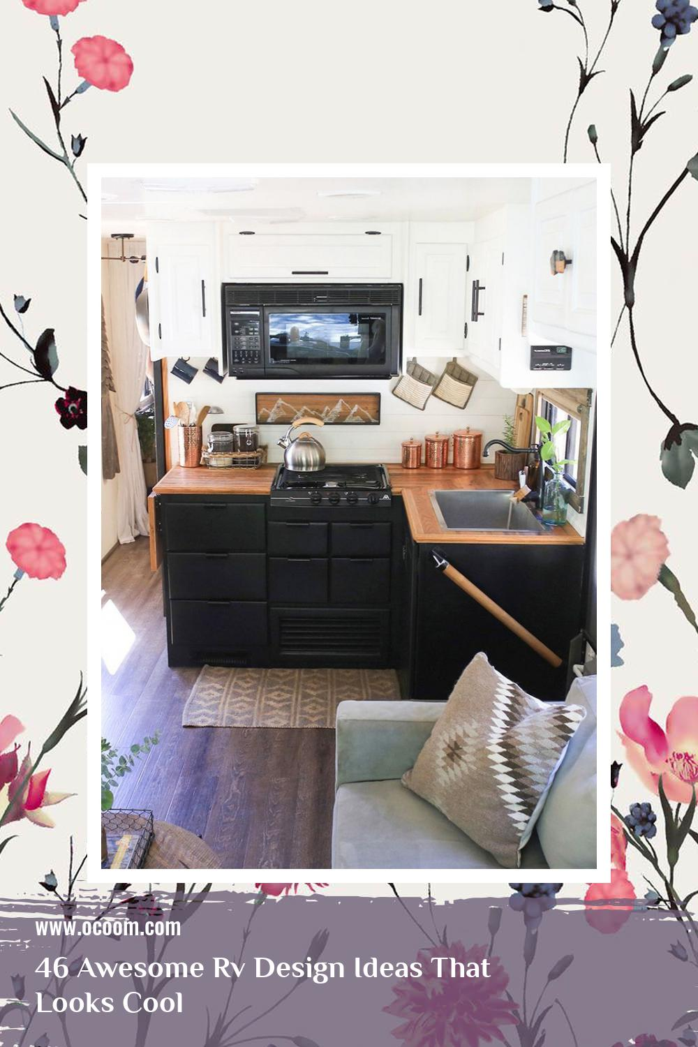 46 Awesome Rv Design Ideas That Looks Cool 1