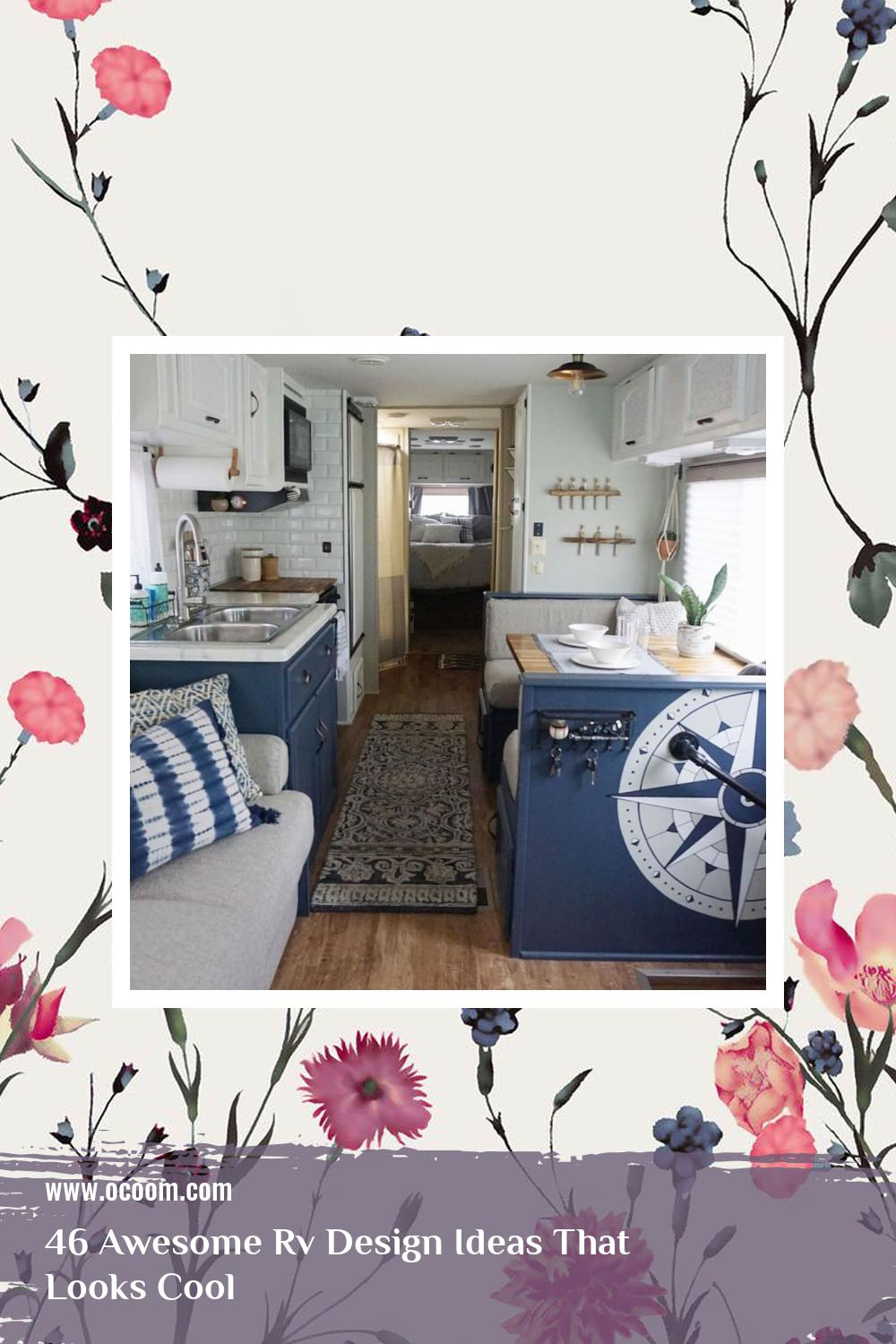 46 Awesome Rv Design Ideas That Looks Cool 10