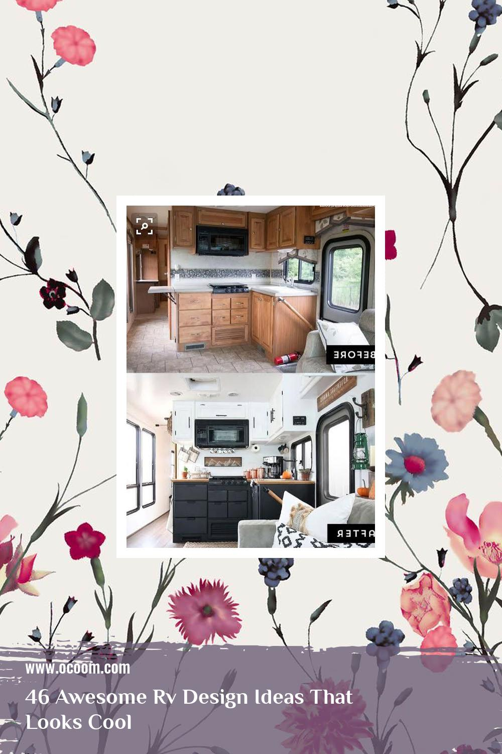 46 Awesome Rv Design Ideas That Looks Cool 11
