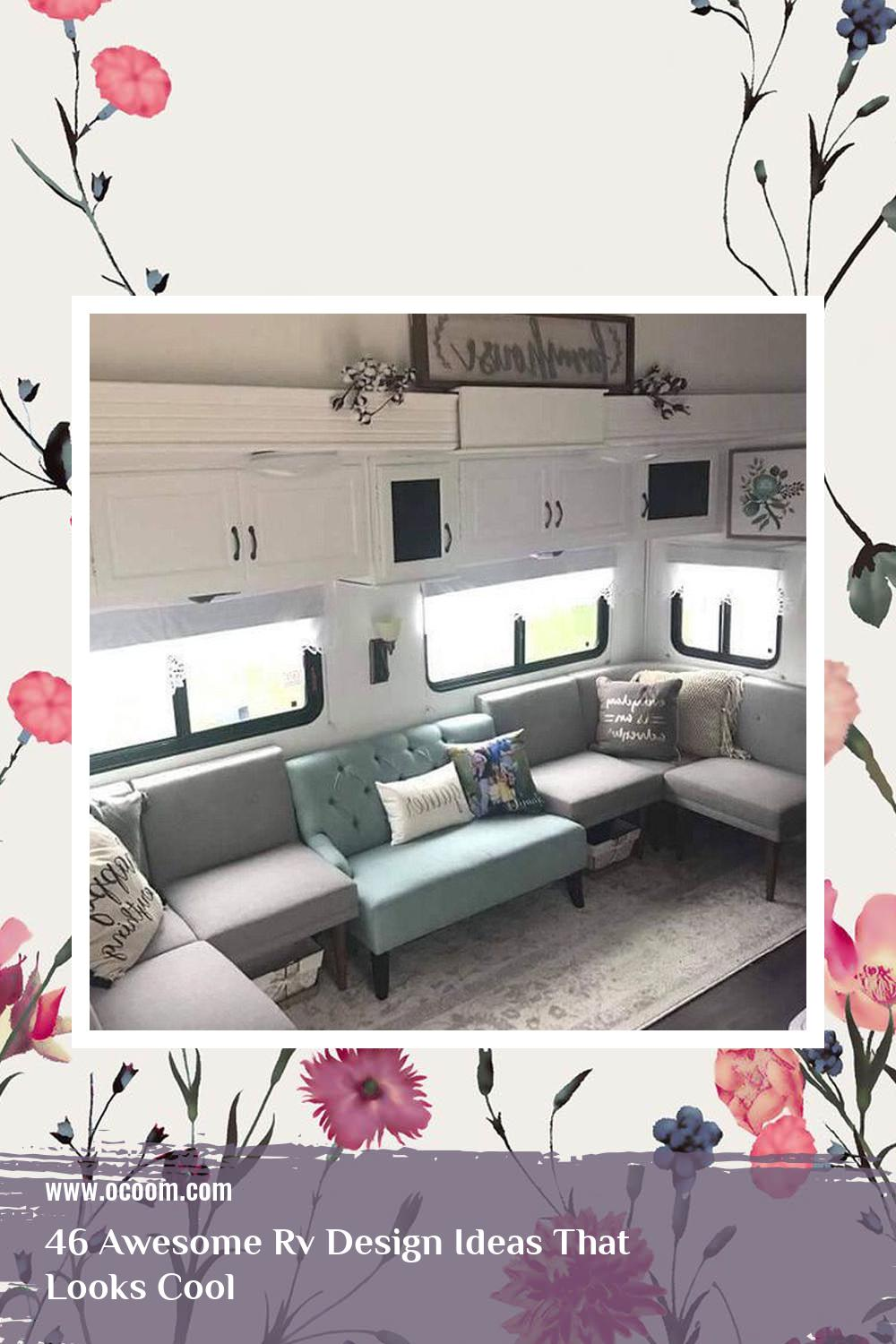 46 Awesome Rv Design Ideas That Looks Cool 15