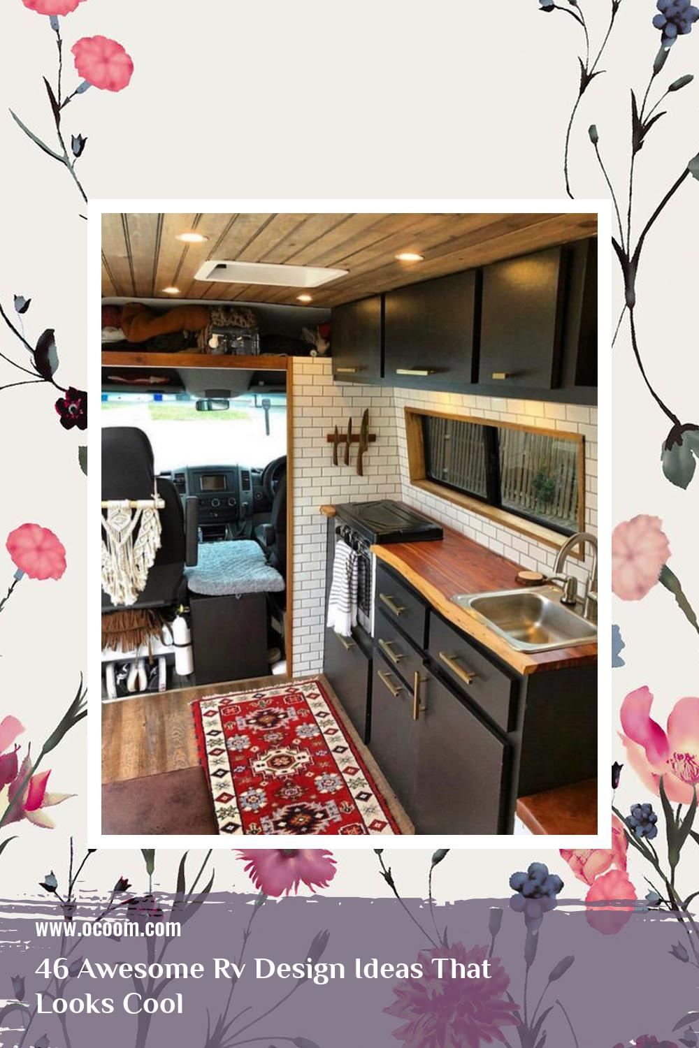 46 Awesome Rv Design Ideas That Looks Cool 18