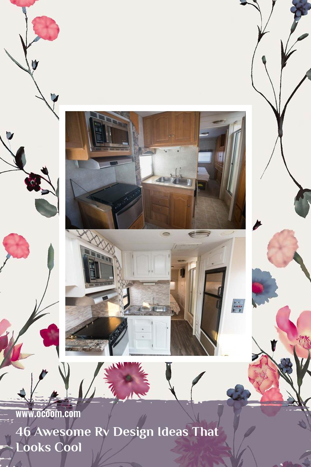 46 Awesome Rv Design Ideas That Looks Cool 20