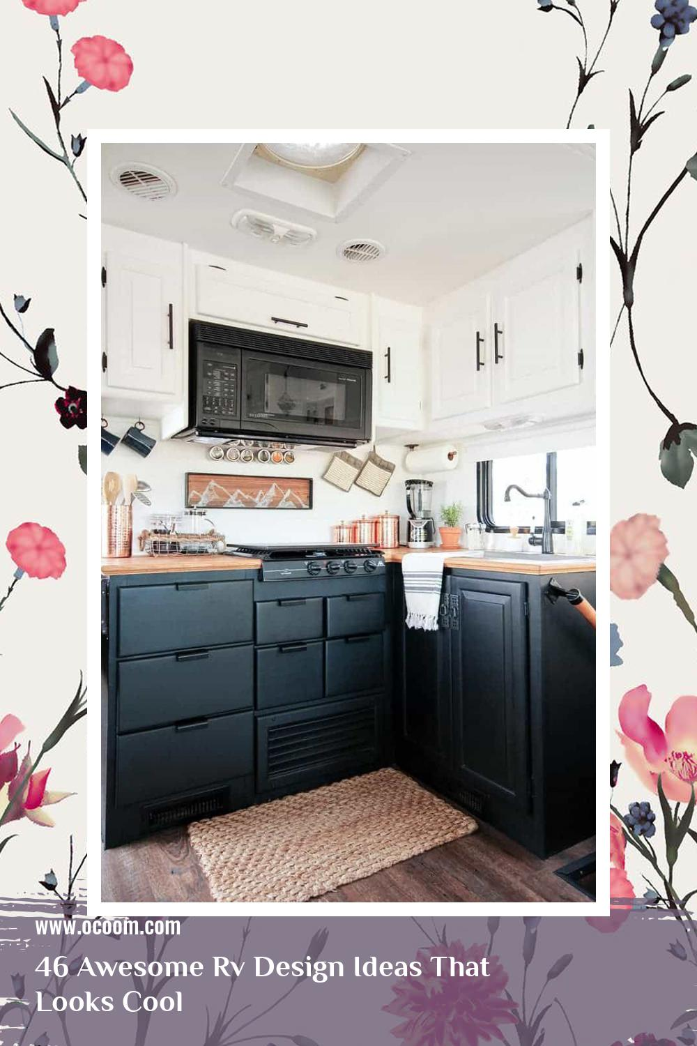 46 Awesome Rv Design Ideas That Looks Cool 25