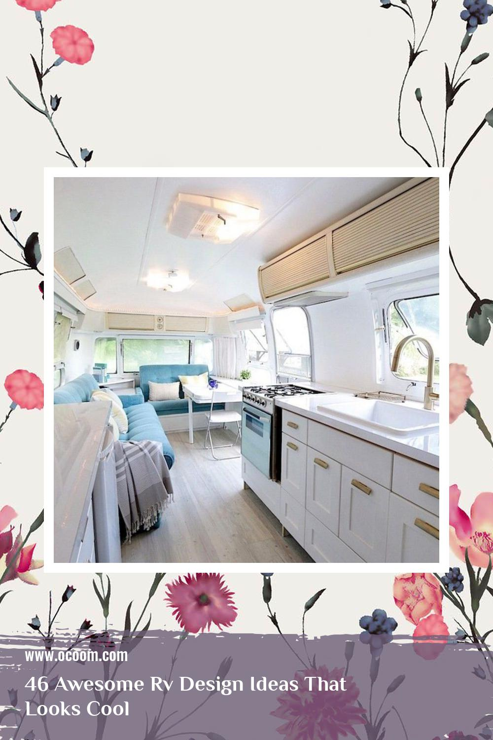46 Awesome Rv Design Ideas That Looks Cool 27