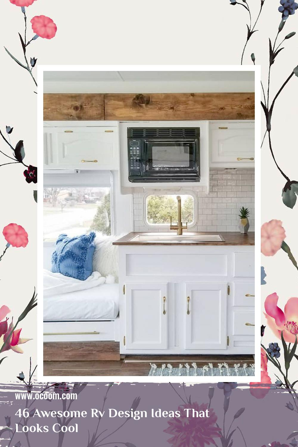 46 Awesome Rv Design Ideas That Looks Cool 3