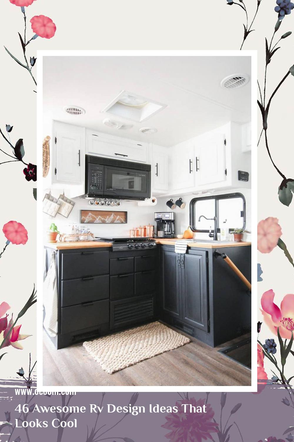 46 Awesome Rv Design Ideas That Looks Cool 32
