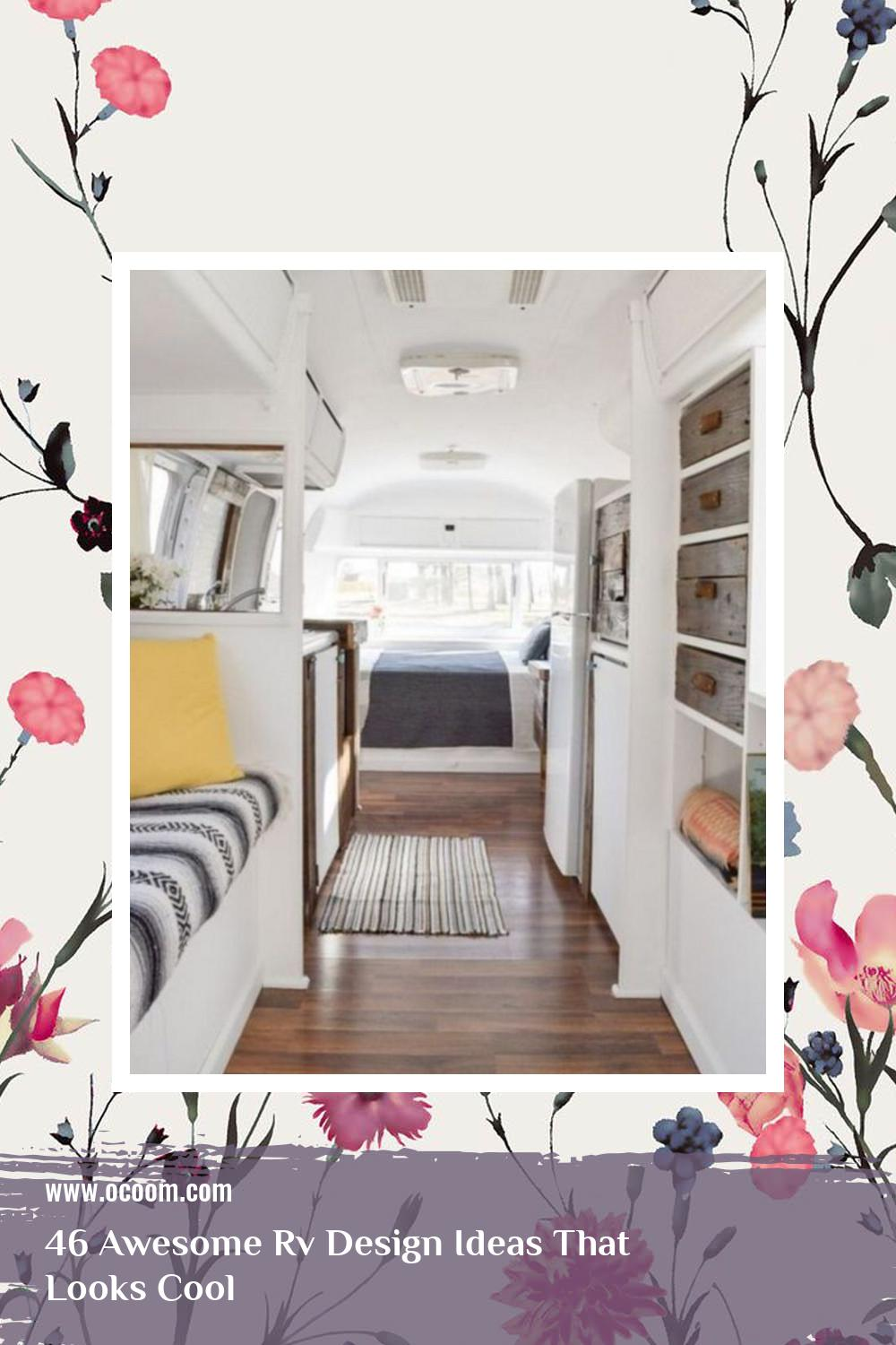 46 Awesome Rv Design Ideas That Looks Cool 39