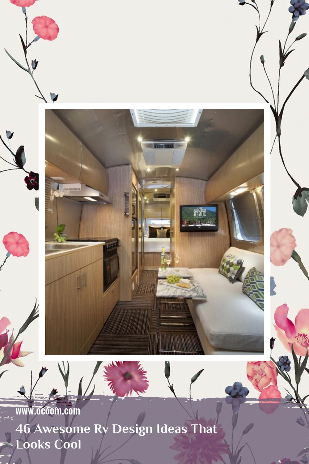 46 Awesome Rv Design Ideas That Looks Cool 40