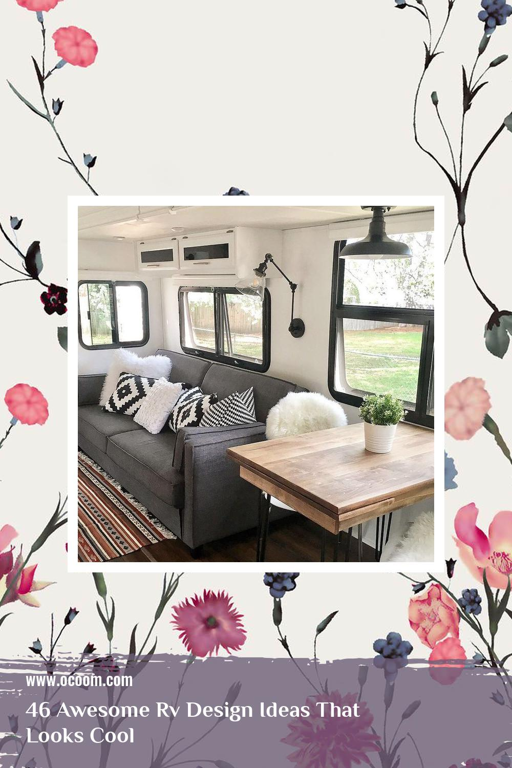 46 Awesome Rv Design Ideas That Looks Cool 8