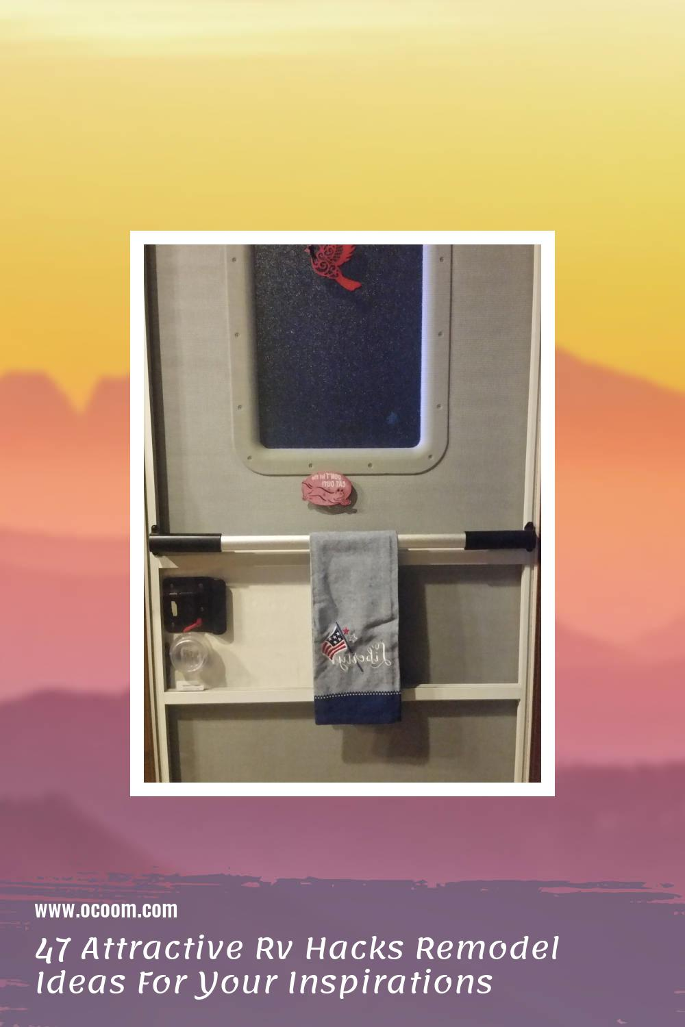 47 Attractive Rv Hacks Remodel Ideas For Your Inspirations 13