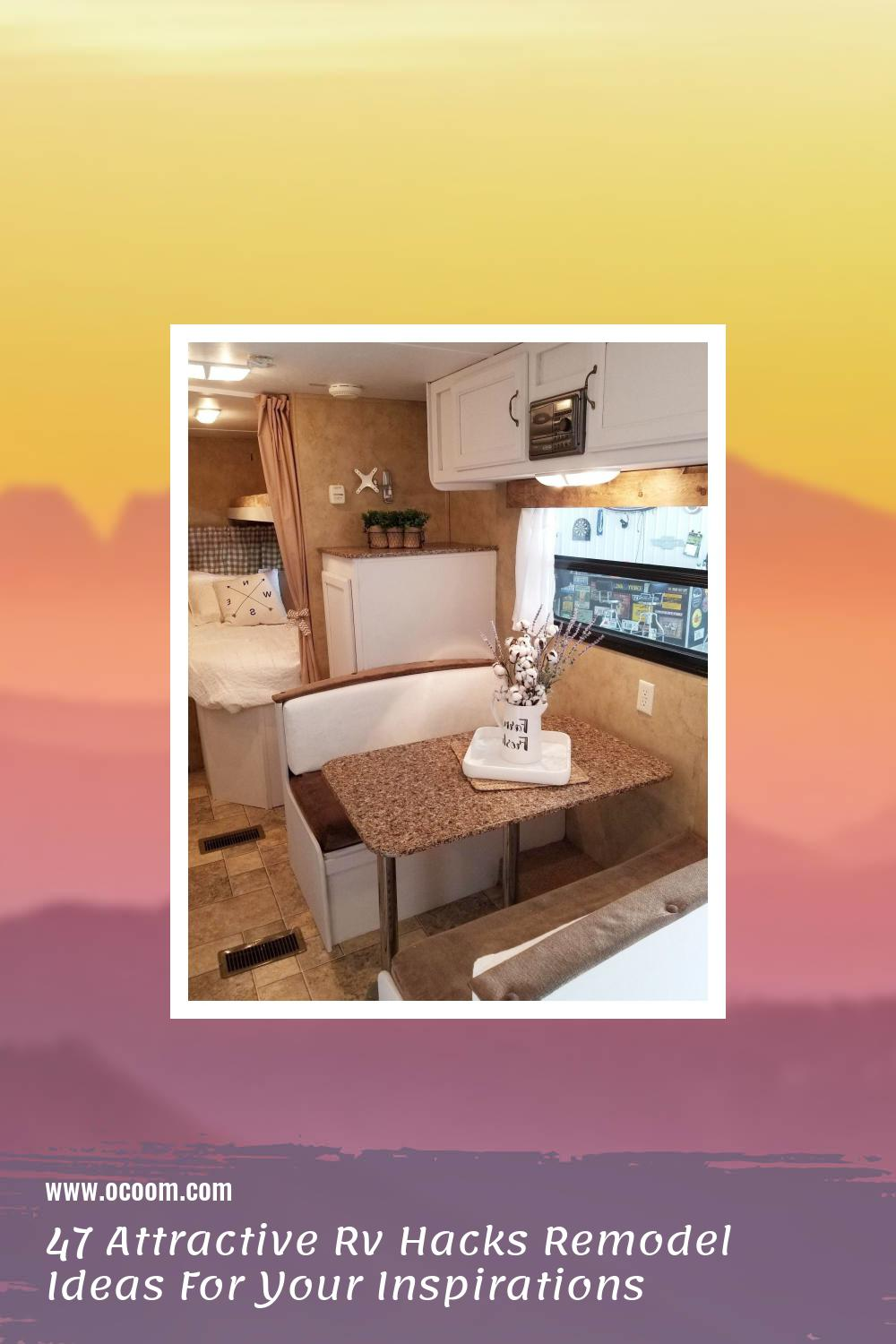 47 Attractive Rv Hacks Remodel Ideas For Your Inspirations 14