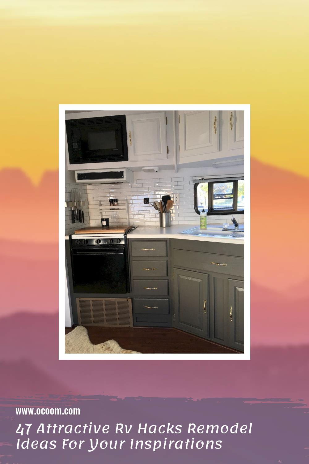 47 Attractive Rv Hacks Remodel Ideas For Your Inspirations 15