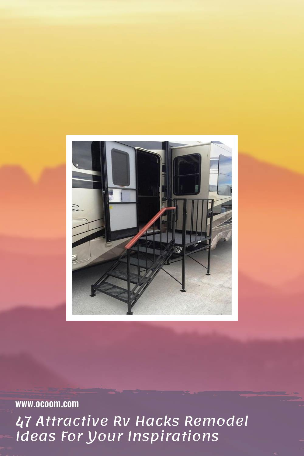 47 Attractive Rv Hacks Remodel Ideas For Your Inspirations 16