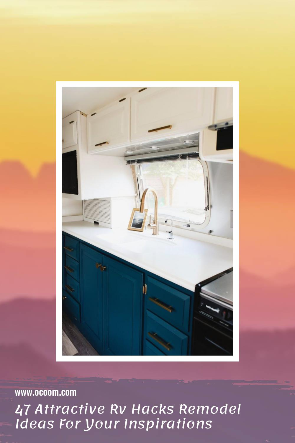 47 Attractive Rv Hacks Remodel Ideas For Your Inspirations 17