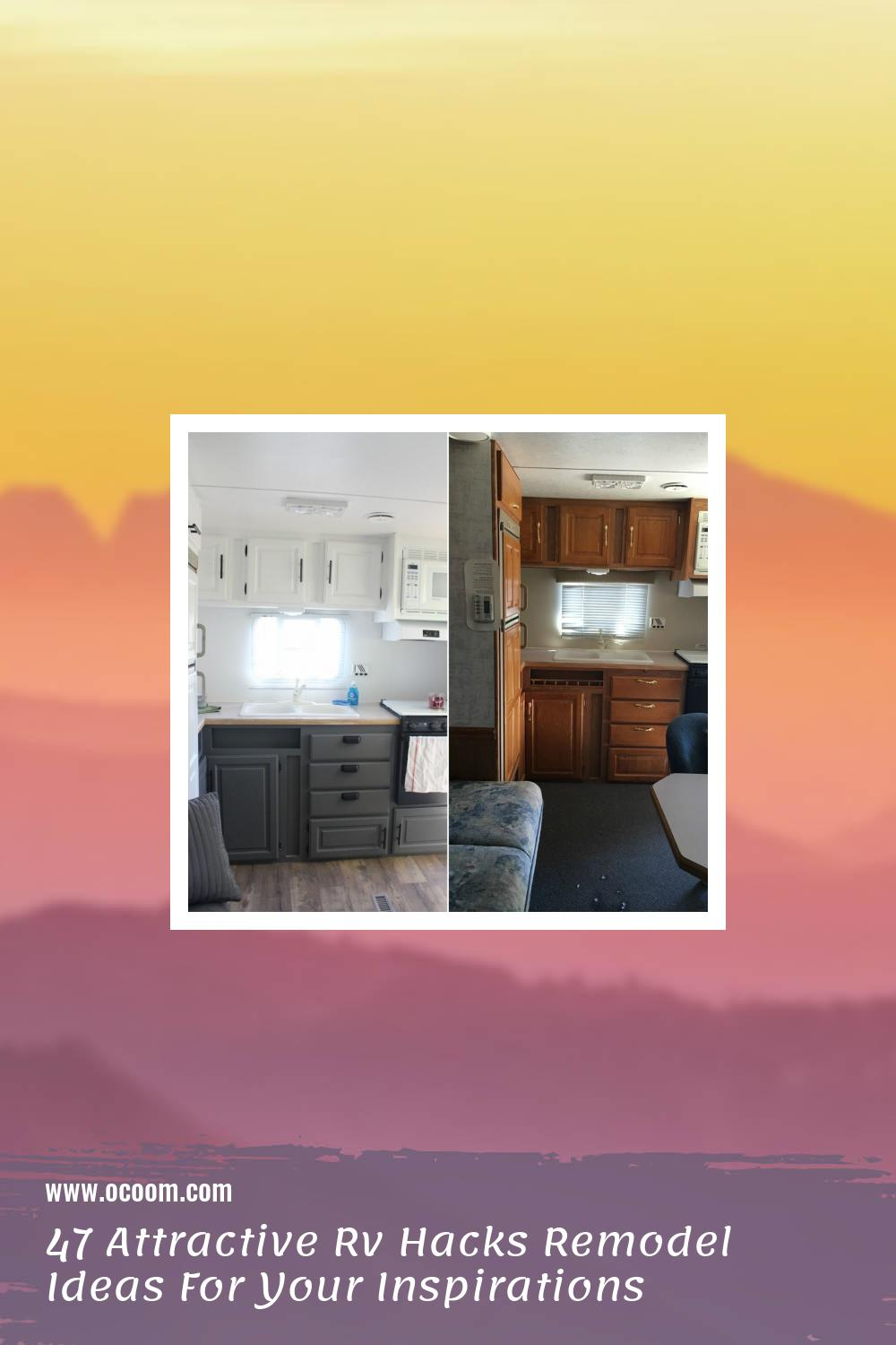 47 Attractive Rv Hacks Remodel Ideas For Your Inspirations 19