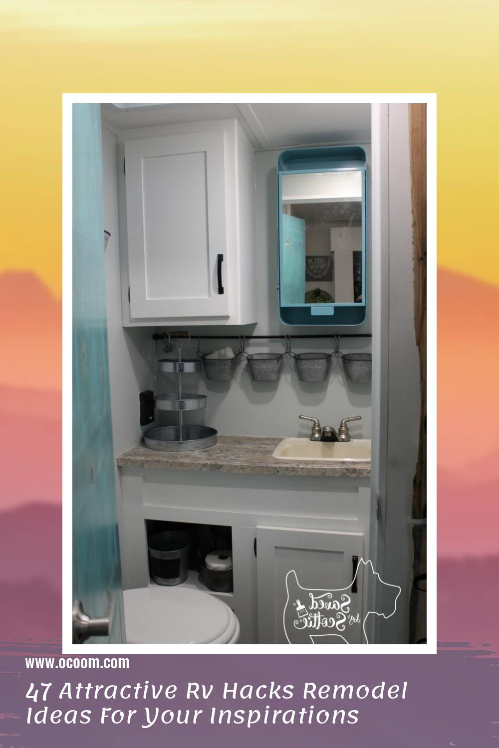 47 Attractive Rv Hacks Remodel Ideas For Your Inspirations 20