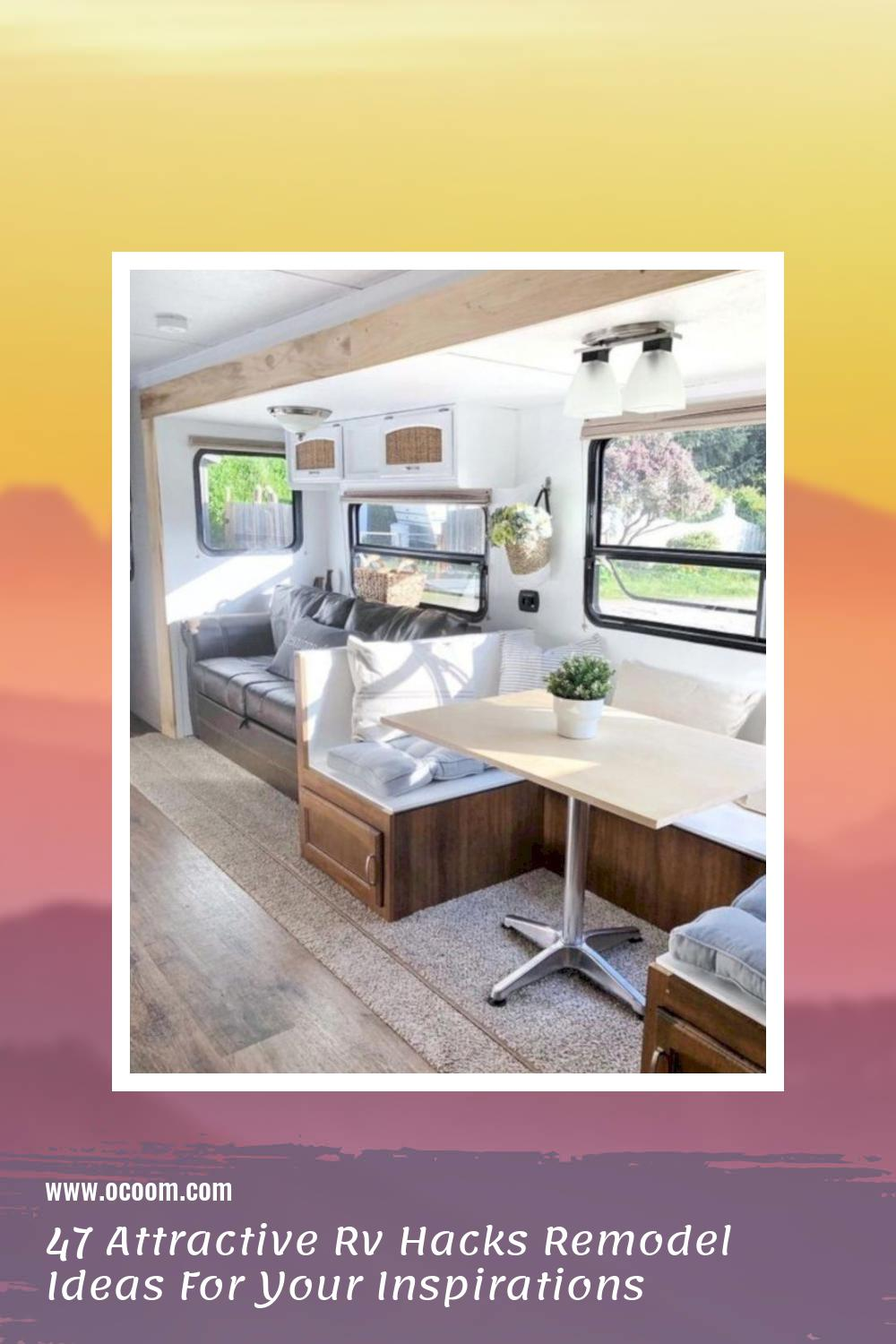 47 Attractive Rv Hacks Remodel Ideas For Your Inspirations 23