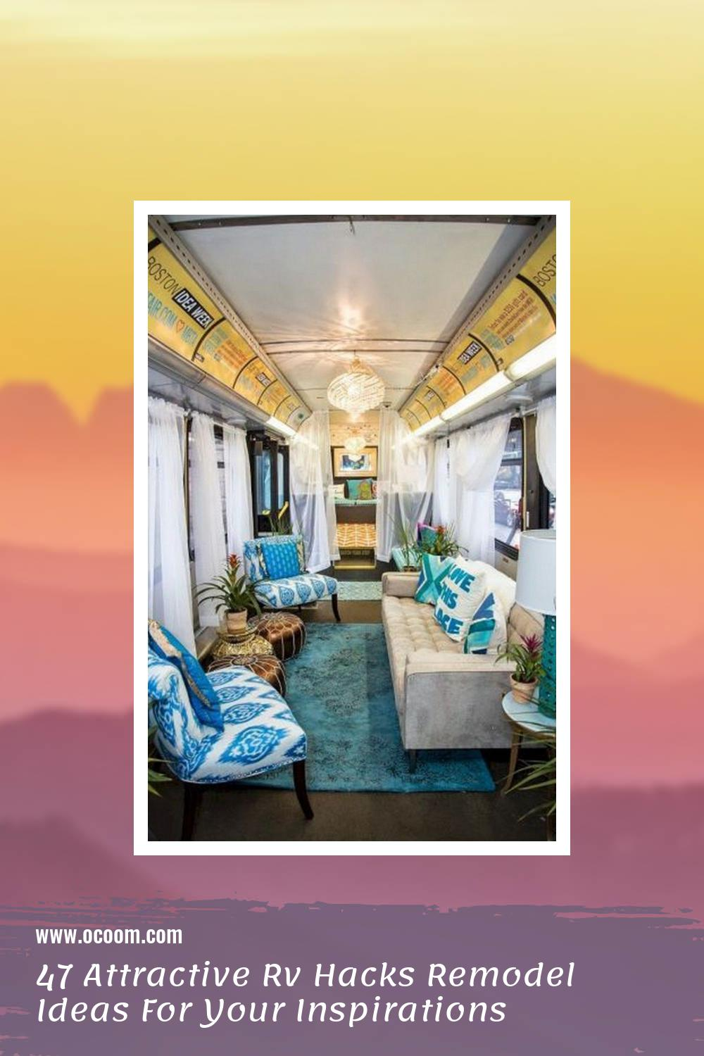 47 Attractive Rv Hacks Remodel Ideas For Your Inspirations 3