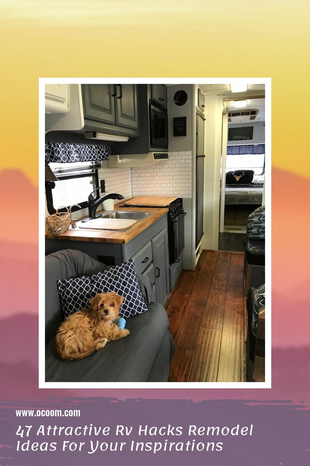 47 Attractive Rv Hacks Remodel Ideas For Your Inspirations 34
