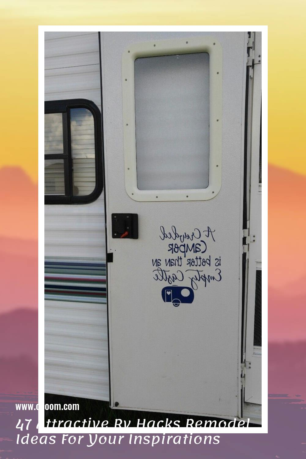 47 Attractive Rv Hacks Remodel Ideas For Your Inspirations 36