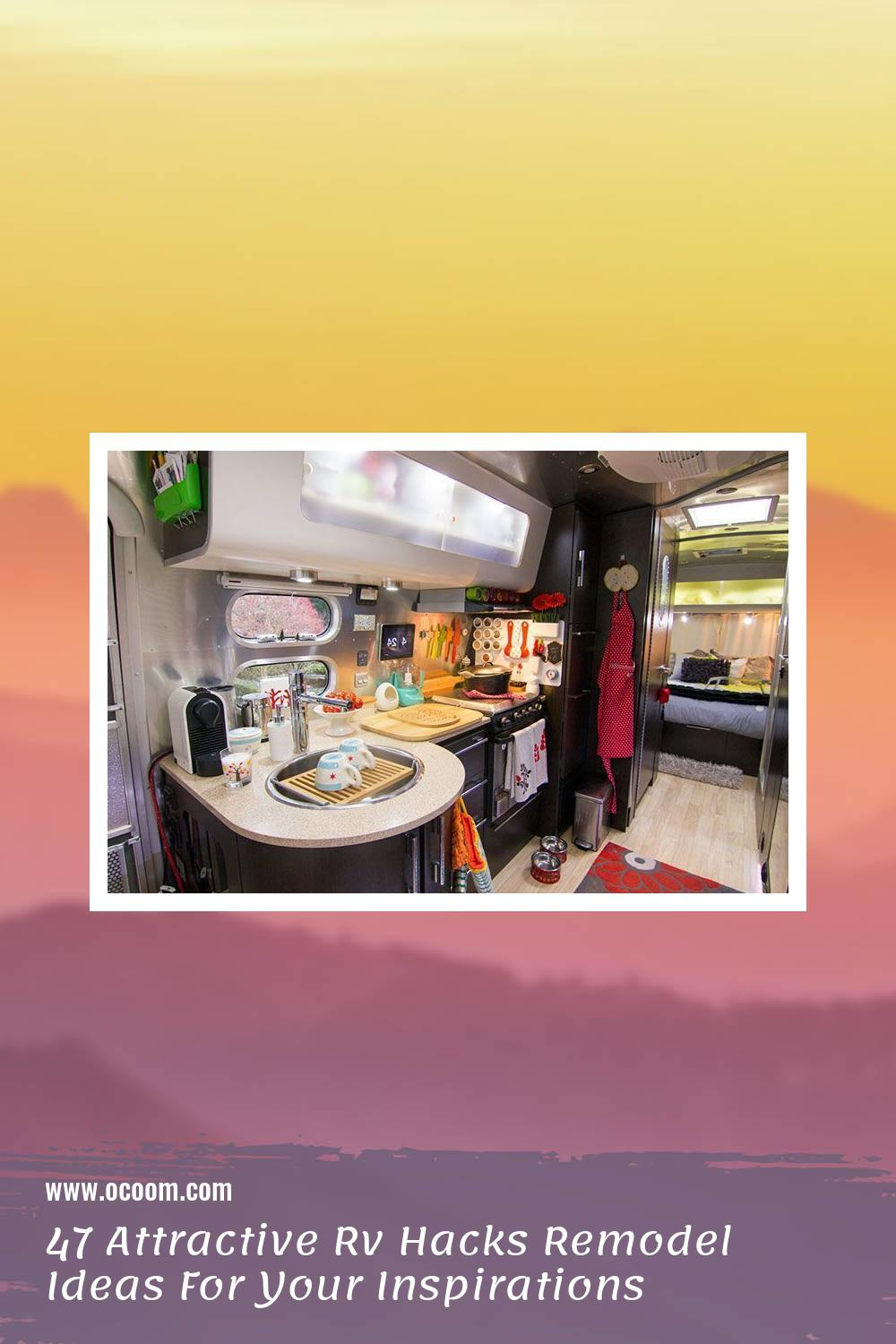 47 Attractive Rv Hacks Remodel Ideas For Your Inspirations 40