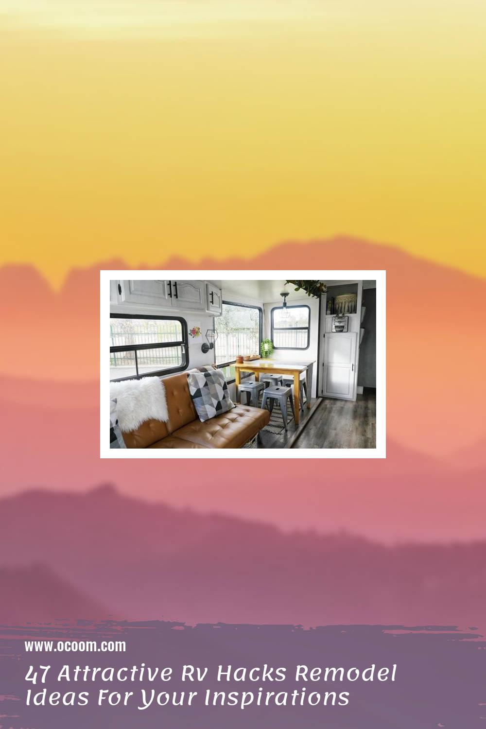 47 Attractive Rv Hacks Remodel Ideas For Your Inspirations 43